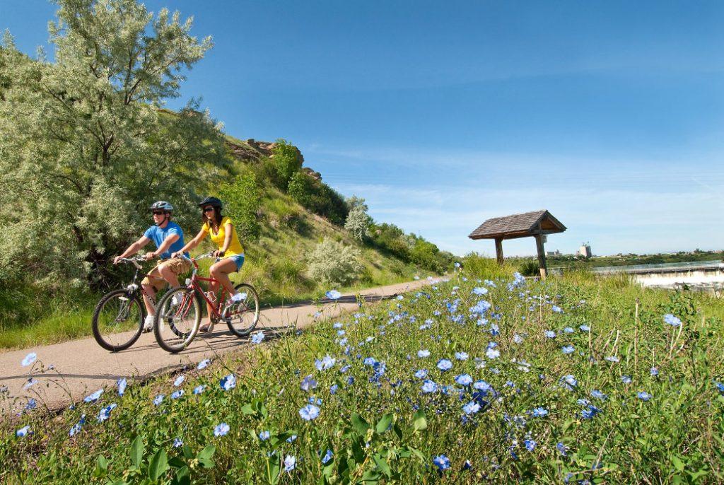 20171018-Montana-Great Falls-RiversEdgeTrail-Cycling