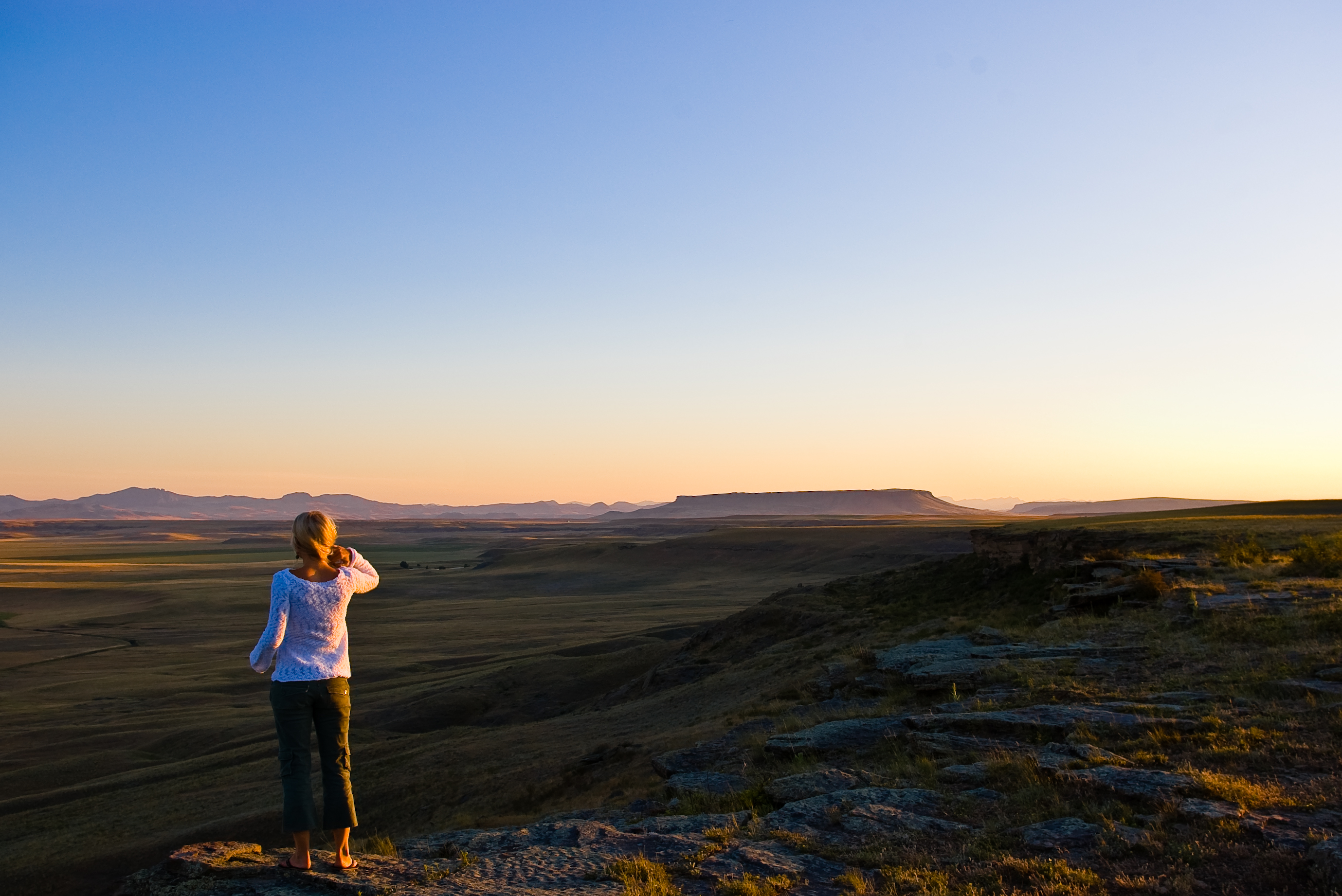 Renew your Spirit with a walk at First People's Buffalo Jump