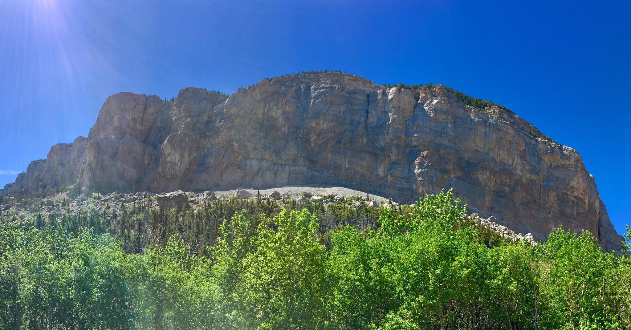 Walk amidst breathtaking scenery in Blackleaf Canyon in the Bob Marshall Wilderness