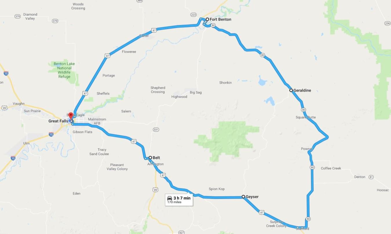 Visit Great Falls Montana - Central Montana Mining Trail