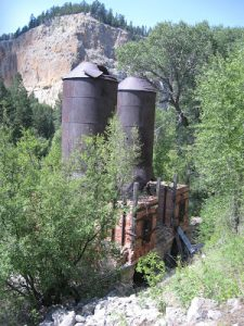 hiking by historic mines near Great Falls Montana